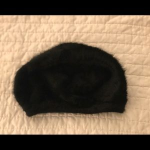 Faux Fur Beret Hat from Russia (Vintage)